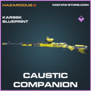 Caustic Companion Kar98k skin epic blueprint call of duty modern warfare warzone item