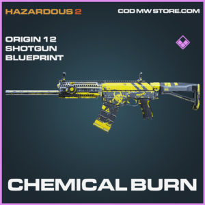 Chemical Burn Origin 12 shotgun epic blueprint call of duty modern warfare warzone item