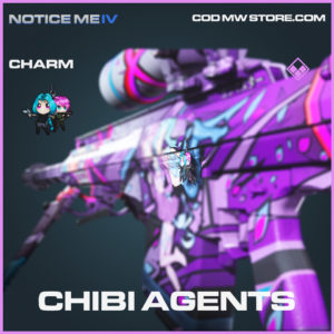 Chibi Agents charm epic call of duty modern warfare warzone item