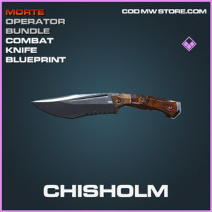 Chisholm Combat Knife skin epic call of duty modern warfare warzone item