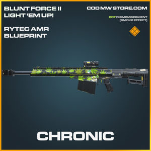 Chronic Rytec AMR skin legendary call of duty modern warfare warzone item