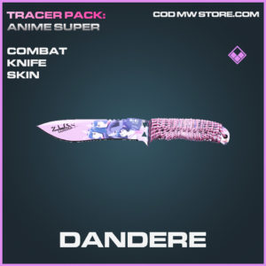 Dandere Combat Knife skin epic call of duty modern warfare warzone item