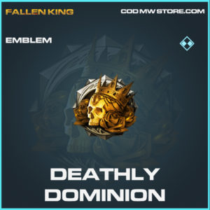 Deathly Dominion emblem rare call of duty modern warfare warzone item