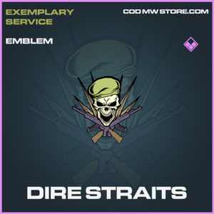 Dire Straits Emblem epic call of duty modern warfare warzone item