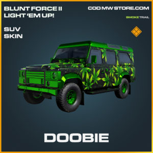 Doobie SUV skin legendary call of duty modern warfare warzone item
