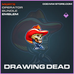 Drawing Dead emblem epic call of duty modern warfare warzone item