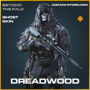 Dreadwood ghost skin legendary call of duty modern warfare warzone item