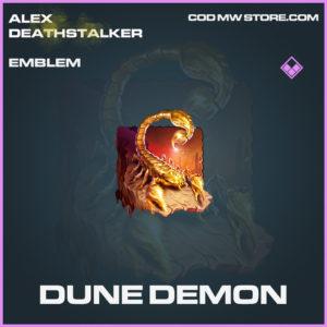 Dune Demon emblem epic call of duty modern warfare warzone item