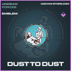 Dust to dust emblem epic call of duty modern warfare warzone item
