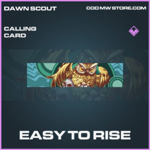Easy to rise calling card epic call of duty modern warfare warzone item
