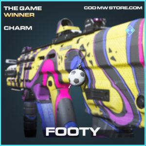 Footy charm rare call of duty modern warfare warzone item
