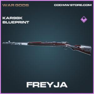 Freyja Kar98k Skin epic blueprint call of duty modern warfare warzone item