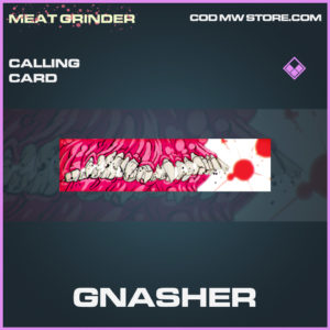 Gnasher Calling card epic call of duty modern warfare warzone item
