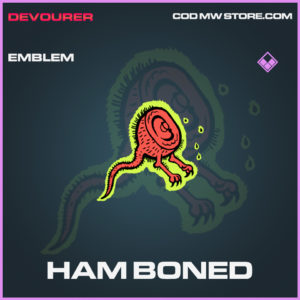 Ham Boned emblem epic call of duty modern warfare warzone item