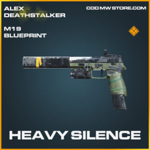 Heavy Silence M19 skin legendary blueprint call of duty modern warfare warzone item