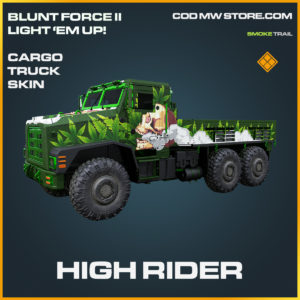High Rider Cargo Truck skin legendary call of duty modern warfare warzone item