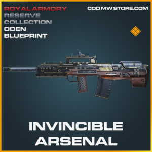 Invincible Arsenal Oden blueprint legendary blueprint call of duty modern warfare warzone item
