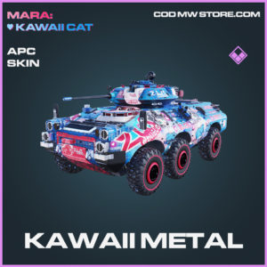 Kawaii Metal APC Skin epic call of duty modern warfare warzone item