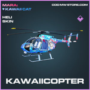 Kawaiicopter Heli skin epic call of duty modern warfare warzone item