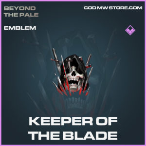 Keeper of the Blade emblem epic call of duty modern warfare warzone item