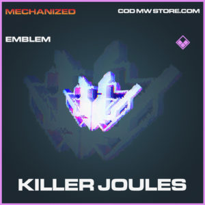 Killer Joules emblem epic call of duty modern warfare warzone item