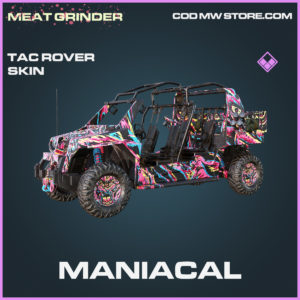 Maniacal Tac Rover skin Epic call of duty modern warfare warzone item
