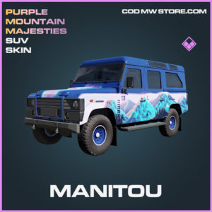Manitou SUV skin epic call of duty modern warfare warzone item
