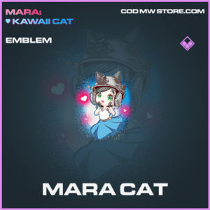 Mara Cat emblem epic call of duty modern warfare warzone item