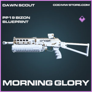 Morning Glory PP19 Bizon skin epic blueprint call of duty modern warfare warzone item