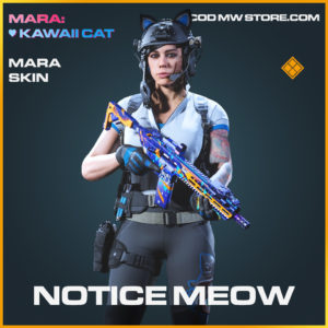 Notice Meow Mara skin legendary call of duty modern warfare warzone item