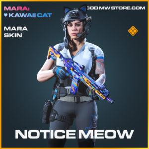 Notice-Meow