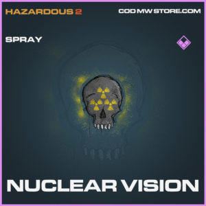 Nuclear Vision spray epic call of duty modern warfare warzone item
