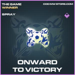onward to victory spray epic call of duty modern warfare warzone item