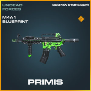 Primis M4A1 skin legendary blueprint call of duty modern warfare warzone item