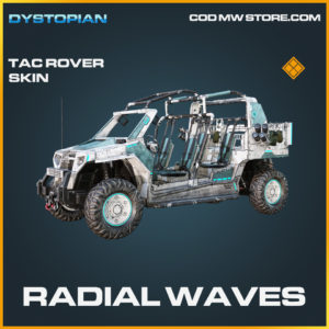Radial Waves Tac Rover Skin legendary call of duty modern warfare warzone item