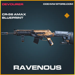 Ravenous CR-56 AMAX skin legendary blueprint call of duty modern warfare warzone item