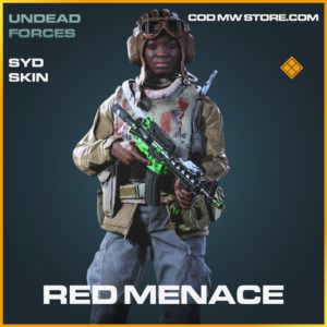 Red Menace syd skin legendary call of duty modern warfare warzone item