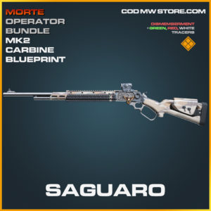 Saguaro MK2 Carbine skin legendary blueprint call of duty modern warfare warzone item