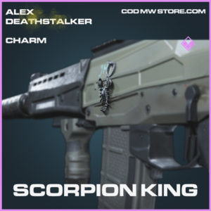 Scorpion King charm epic call of duty modern warfare warzone item