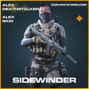 Sidewinder alex skin legendary call of duty modern warfare warzone item