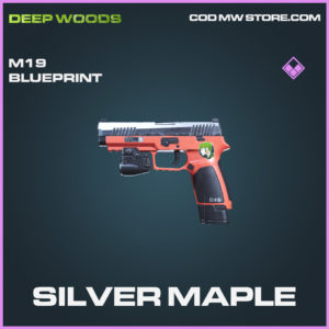 Silver Maple M19 skin epic blueprint call of duty modern warfare warzone item