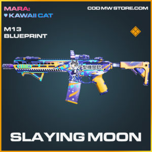 Slaying Moon M13 skin legendary blueprint call of duty modern warfare warzone item