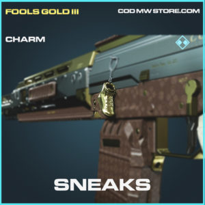 Sneaks charm rare call of duty modern warfare warzone item
