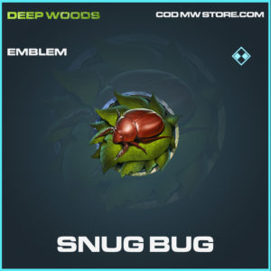 Snug Bug emblem rare rare call of duty modern warfare warzone item