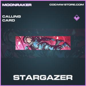 Stargazer calling card epic call of duty modern warfare warzone item