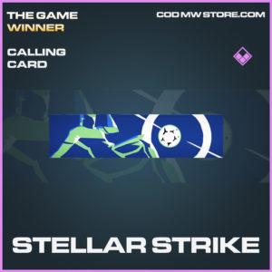 Stellar Strike calling card epic call of duty modern warfare warzone item