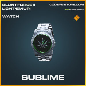 Sublime Watch legendary call of duty modern warfare warzone item