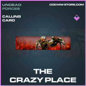 The Crazy Place calling card epic call of duty modern warfare warzone item