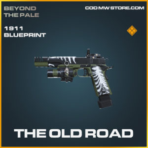 The Old Road 1911 skin legendary blueprint call of duty modern warfare warzone item
