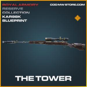 The Tower Kar98k skin legendary blueprint call of duty modern warfare warzone item